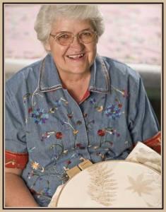 Bettye Kimbrell, quilter.