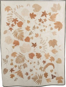 Cherokee Leaf Pounding quilt for Merrill Stewart