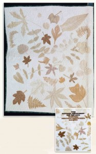 Quilt of leaves collected in Norris, TN